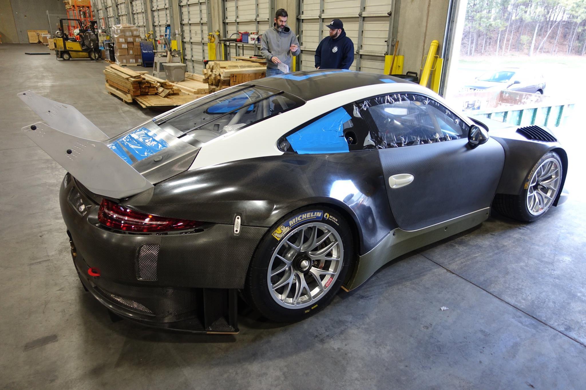 2016 Porsche 911 991 Gt3 R Competition Motorsports